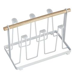 Yunhigh Cup Drying Rack Stand for Counter Top & Cabinet Meta