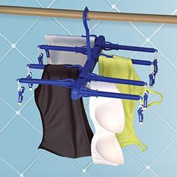 Set of 2 Delicates Dryer and Hanger Clip and Drip Hanger