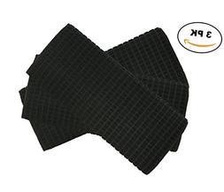"""Deluxe Premium Microfiber Dish Drying Mat 16"""" x 19"""" - BL"""