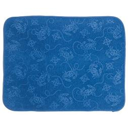 Kay Dee Designs A8937 Blue Crabs Embossed Microfiber Counter