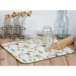 Kay Dee Designs A8998 Garden Notes Drying Mat