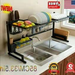 dish drainer dish drying rack over sink