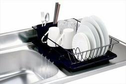 Home Basics 3-Piece Dish Drainer