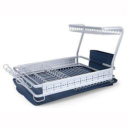 PEACEKOREA Dish Drying Draining Aluminum Material Rack 1tier