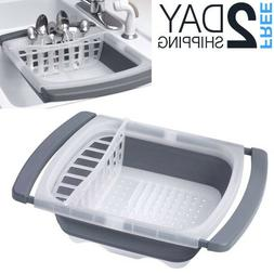 Dish Drying Rack For Small Spaces RV Camper Collapsible Sink