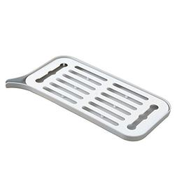 Noble Dish Drying Rack With Drainboard Set -Small Pastic Tra