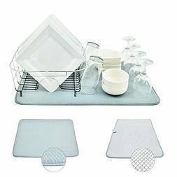 dish drying rack mat
