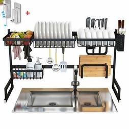 Dish Drying Rack Over Sink Display Stand Drainer Stainless S
