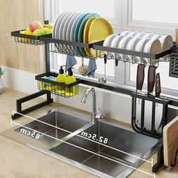 dish drying rack over sink drainer shelf
