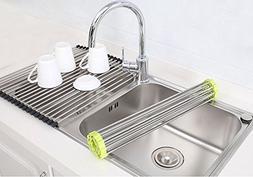 TIANG Dish Drying Rack Stainless Steel Large Multipurpose Ov