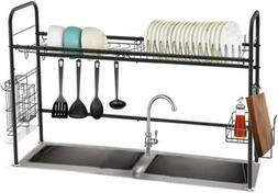 Dish Drying Rack Stainless Steel Over the Sink Dish Rack  La