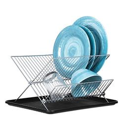 Dish Drying Rack – X Dish Drying Rack - Two Tier Dish Rack