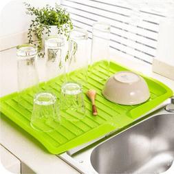 Dish Plate Drainer <font><b>Drying</b></font> Tray Board Cut
