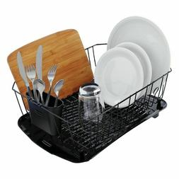 Dish Rack Drip Board Kitchen Sink Plastic Tray Drain Drainer