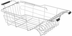 dish rack drying drainer kitchen stainless steel
