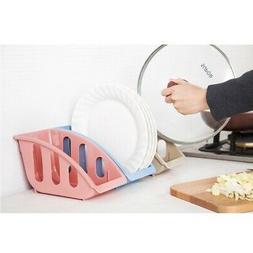 Dish Rack Plate Drying Storage Organizer Holder Home Kitchen