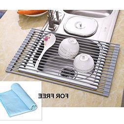 NEX Dish Racks Over The Sink Multipurpose Dish Drying Mat Ro