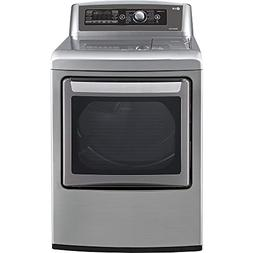 "LG DLEX5780VE 27"" Electric Steam Dryer with 7.3 cu. ft. Capa"