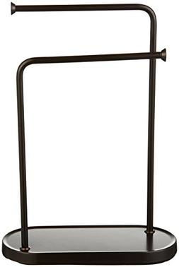 double l hand towel stand