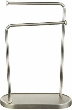 AmazonBasics Double-L Hand Towel and Accessories Stand - Nic