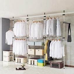 Drying Racks Top-down Clothes Hanger Coat Rack Hangers Floor