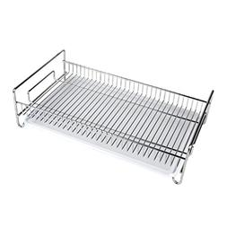 Dish drain rack, tea set dishes leaking rack stainless steel