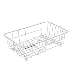 Dish drain rack, stainless steel water filter basket dishwas