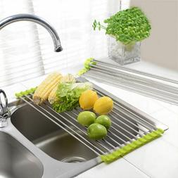 Drainer Kitchen Accessories Dish Drying Rack Holder Sink Sto