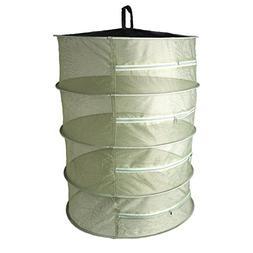 LANDUM Dry Net Collapsible 4 Layer Mesh Hanging Herbal Bud P