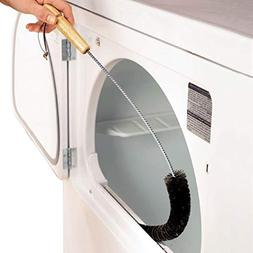 Clothes Dryer Lint Vent Trap Cleaner Brush gas electric Fire