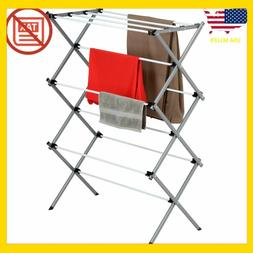 Dryer Storage Portable Clothes Drying Rack Laundry Stand Fol