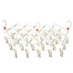 KK5 Clothes Drying Hanger - Retractable Clip Drip Rack 29 Cl