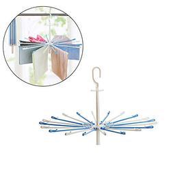 Meltset Drying Rack 20 Clips Space Saver Drip Hanger Foldawa