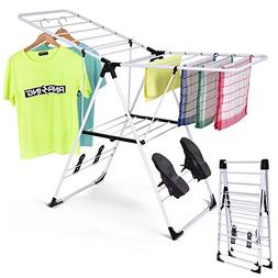 Tangkula Clothes Drying Rack Collapsible Laundry for Sweater