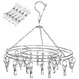 Drying Rack Laundry Drip Hanger 20 Clips and 10 Replacement
