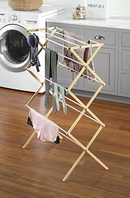 Whitmor Natural Wood Drying Rack