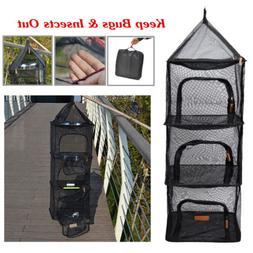drying rack net dryer 4 layers outdoor