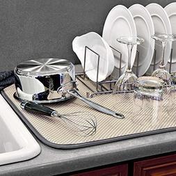 The OriginalTM XL Dual Dish Drying Mat - Dual Sided Microfib