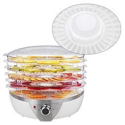500W Electric Fruit Food Dehydrator 6 Drying Racks Snack-Mak