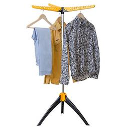 Artmoon Elm Collapsible Clothes Drying Rack Foldable Tripod