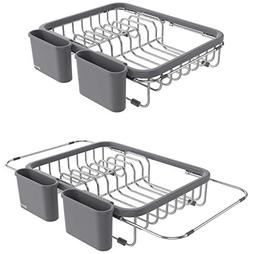 Shanik Expandable Draining Dish Rack - Over-Sink Dish Draine