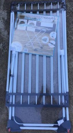 Polder Expandable Laundry Clothes Drying Rack 50.8 ft Of Dry