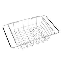 BESTONZON Expandable Sink Kitchen Dish Drying Rack, Stainles