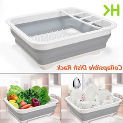 Extra Large Dish Drying Rack Dish Drainer w/ Utensil Holder