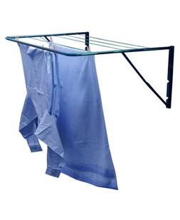 Fence or Wall Mounted Clothes Airer by Minky