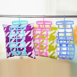 flexible assembled pillow drying rack home hanger