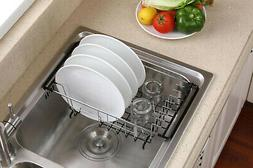 Floor Drain Dish Drainer Drying Rack Cup Stainless Steel Was