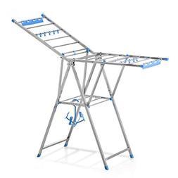 Drying Racks Floorstanding Fold Stainless Steel Airfoil Indo