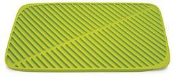 Joseph Joseph 85088 Flume Folding Draining Mat, Green, Large