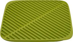Joseph Joseph 85086 Flume Folding Draining Mat, Small, Green